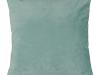 Pernă, material textil de catifea mentol, 45x45, ALITA TIPUL 10