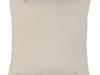 Pernă, material textil de catifea smântâniu, 60x60, OLAJA TIPUL 1