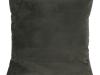 Pernă, material textil de catifea verde închis, 45x45, ALITA TIPUL 11