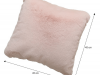 Pernă, roz, 45x45, RABITA TIPUL 5