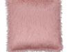 Pernă, roz/auriu-roz, 45x45, FOXA TYP 3