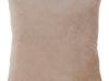 Pernă, ţesătură de catifea bej, 45x45, ALITA TYP 10