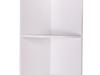 Raft de colţ suspendat, alb, ATENE TIPUL 4