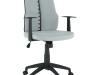 Scaun de birou, gri deschis / negru, DELANO