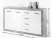Scrin 4Z + 3D, beton / alb cu luciu, SLONE 3