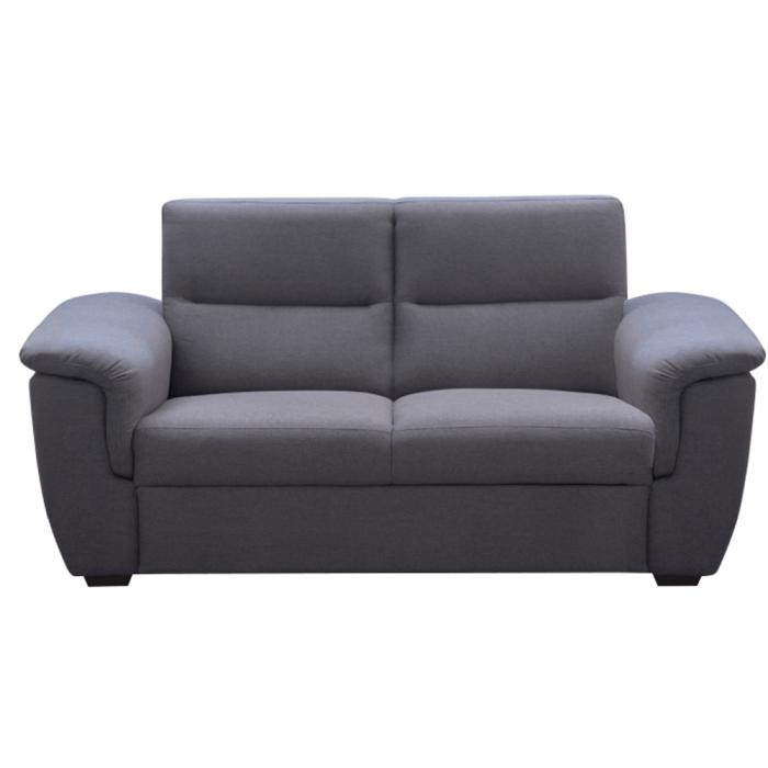 Canapea 3 locuri, material gri, la comandă, BORN