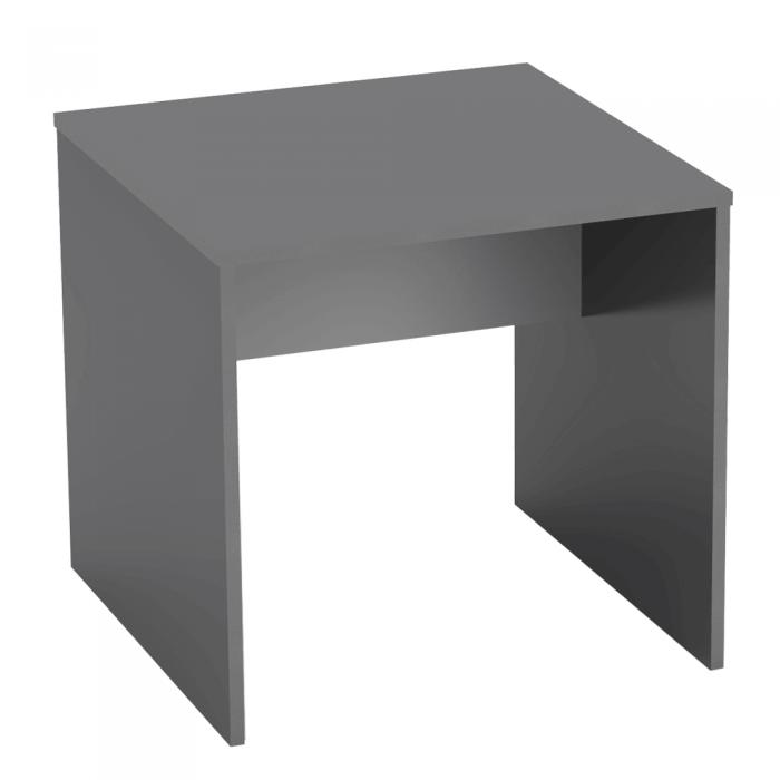 Masă de birou, grafit/albă, RIOMA TIPUL 17
