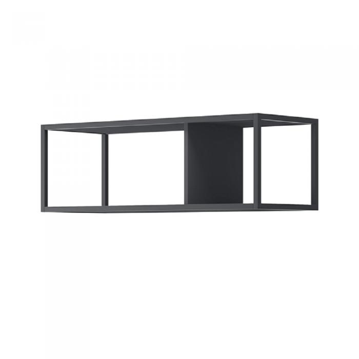 Raft metalic, negru, SPRING EP90