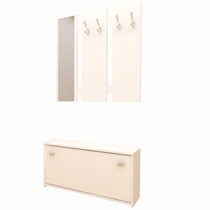 Set mobilă hol, alb, LADA 03 NEW
