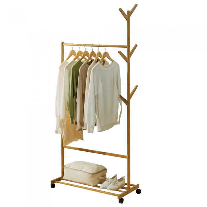 Stander haine, bambus, lăţime 60 cm, VIKIR TYP 2