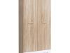 Dulap cu două uşi, stejar sonoma/alb, EMIO TYP 02