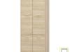 Dulap şifonier 4D cu rafturi, stejar sonoma, TEYO