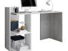 Birou, beton/alb mat, ANDREO