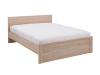 Cadru de pat, stejar sonoma, NORTY TYP 8 160x200