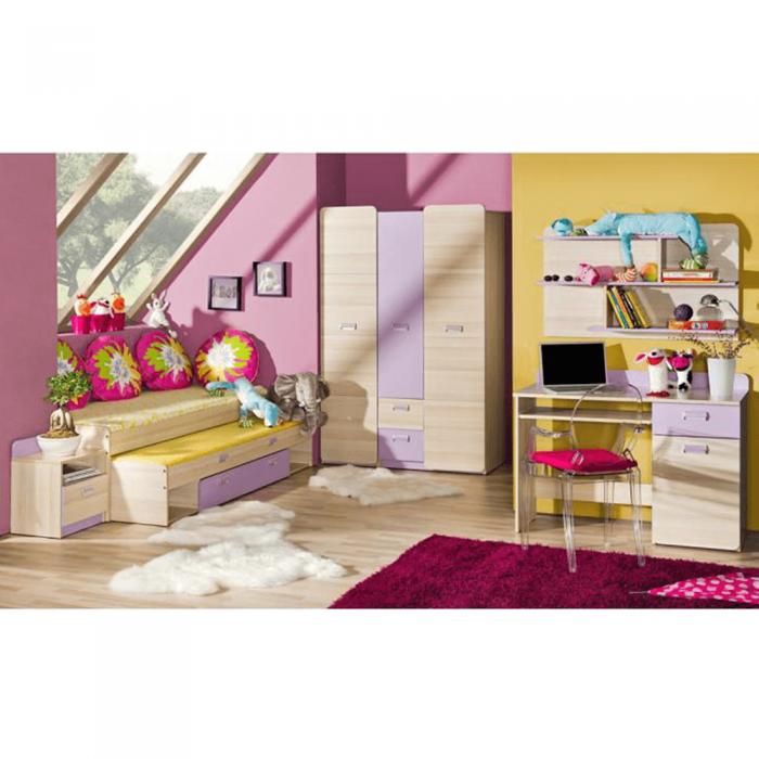 Pat, frasin/violet,80x190, EGO L13