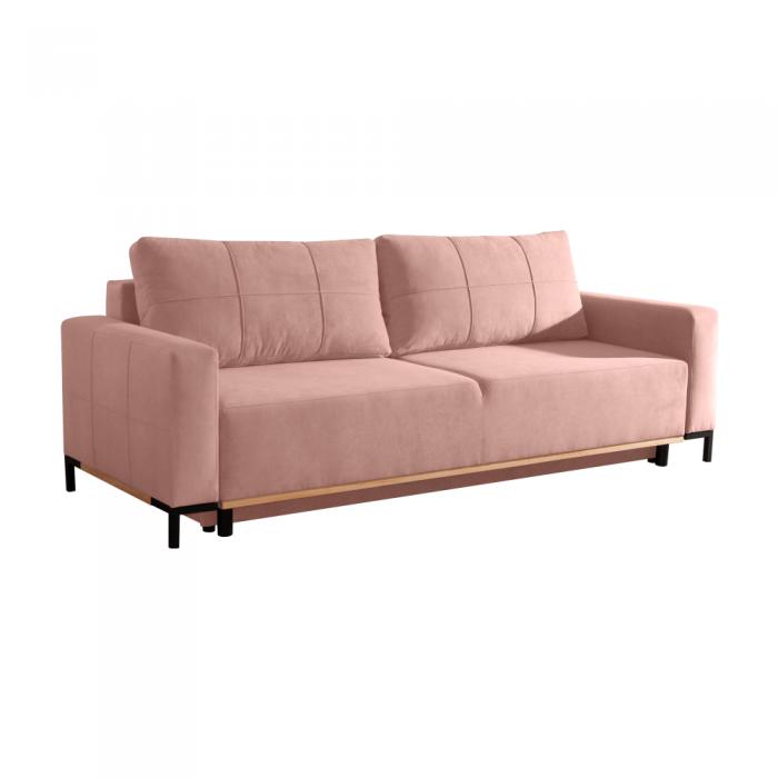 Canapea, roz învechit, RAMOS