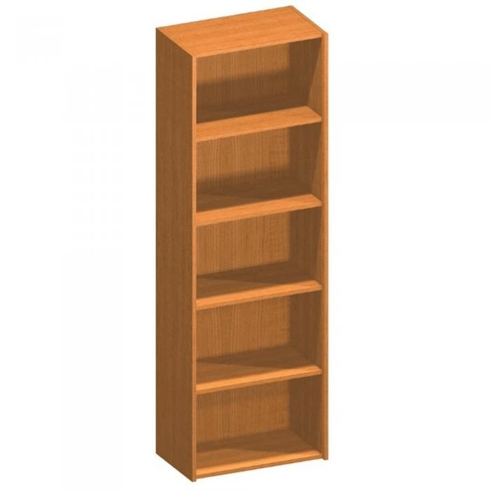 Dulap biblioraft înalt, cireş, TEMPO ASISTENT NEW 001