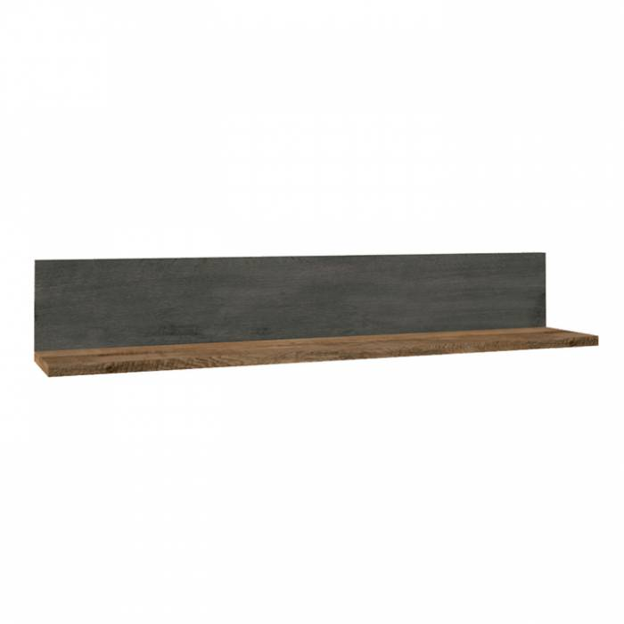 Raft, stejar lefkas închis/smooth gri, MONTANA P1