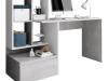 Birou, beton/alb mat, NEREO