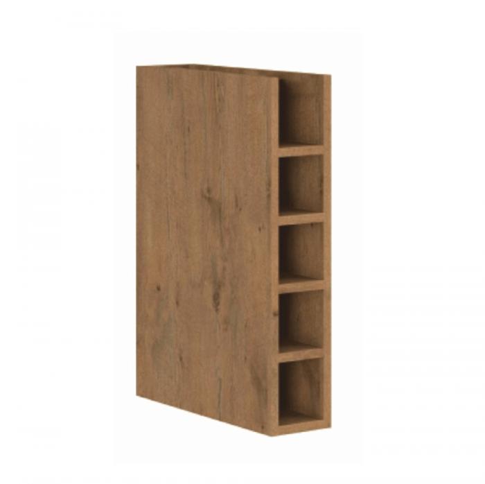 Cabinet inferior cu rafturi, stejar lancelot, VEGA 15 D OTW BB
