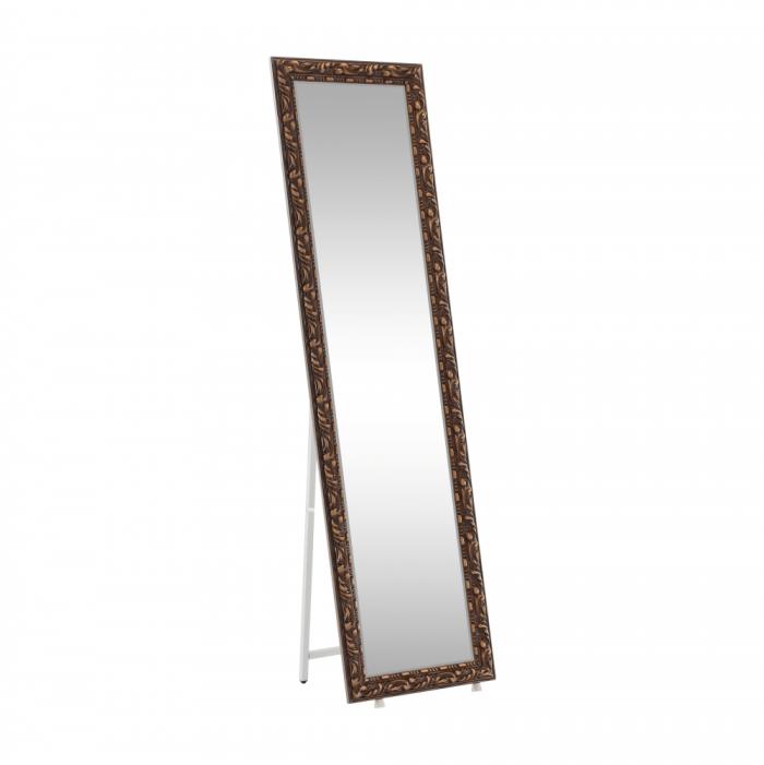 Oglindă de design, maro, PANTOS