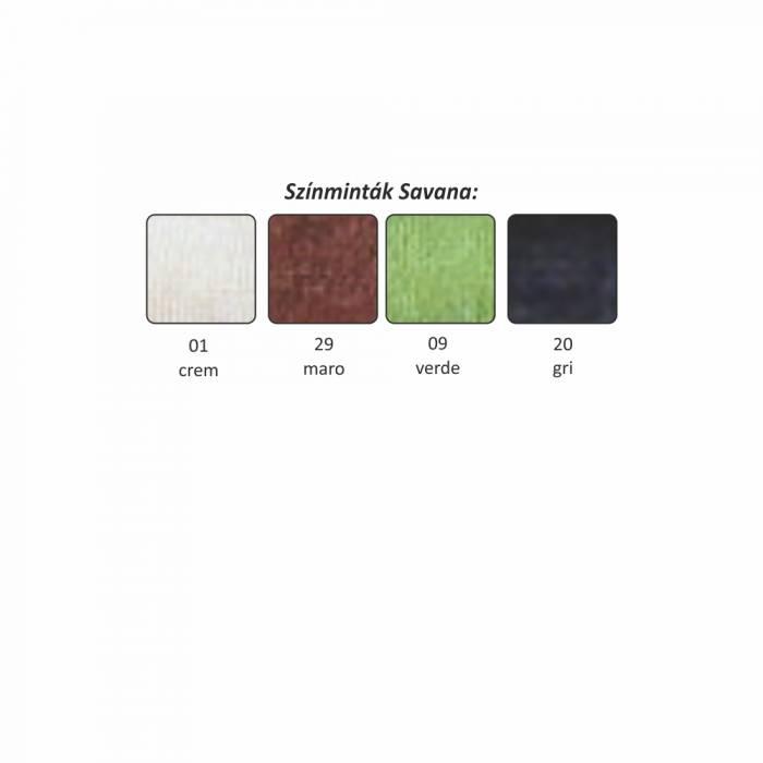 Fotoliu extensibil Mili 2, 126x100x81 cm, textil, maro