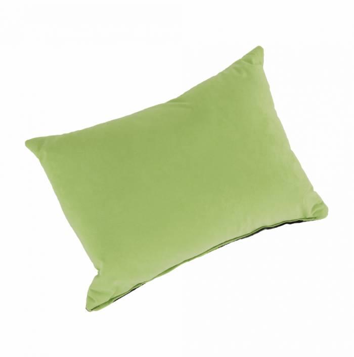 Fotoliu extensibil stânga Kubos, 104x78x70 cm, textil, verde/bej