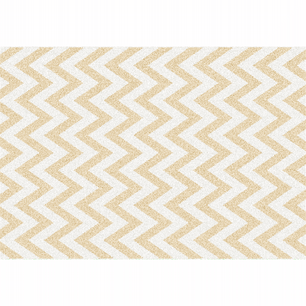 Covor Adisa 2, 67x120 cm, poliester, bej/alb poza