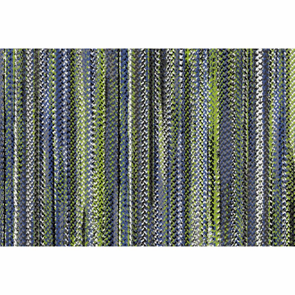 Covor Feten, 57x90 cm, poliester, multicolor poza