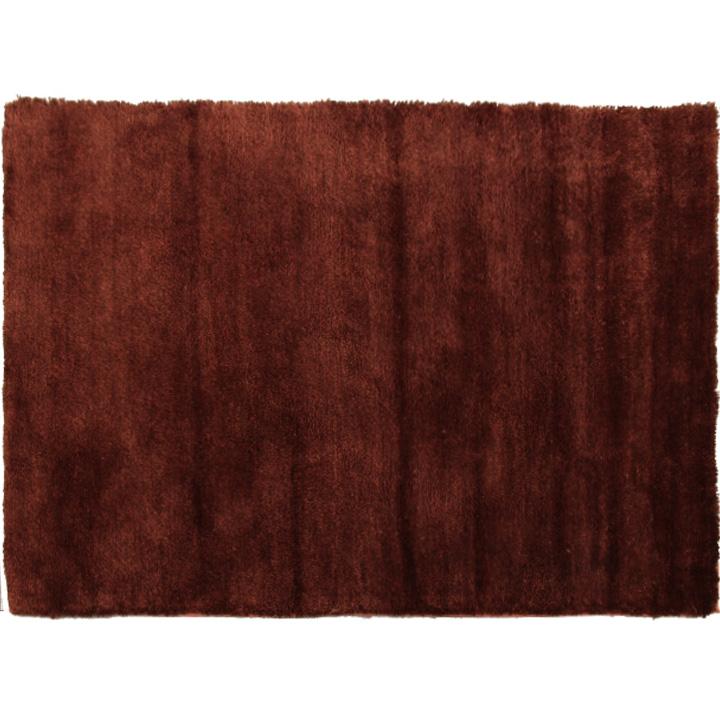 Covor Luma,100x140 cm, poliester, bordo/maro poza
