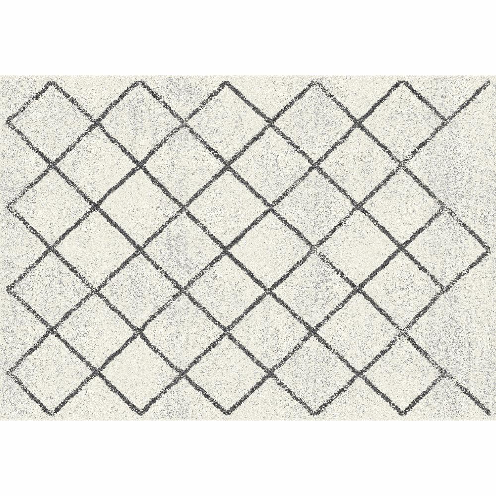 Covor Mates 2, 67x120 cm, poliester, bej poza