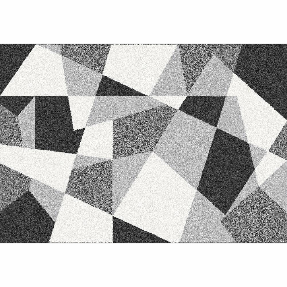 Covor Sanar, 67x120 cm, poliester, multicolor poza