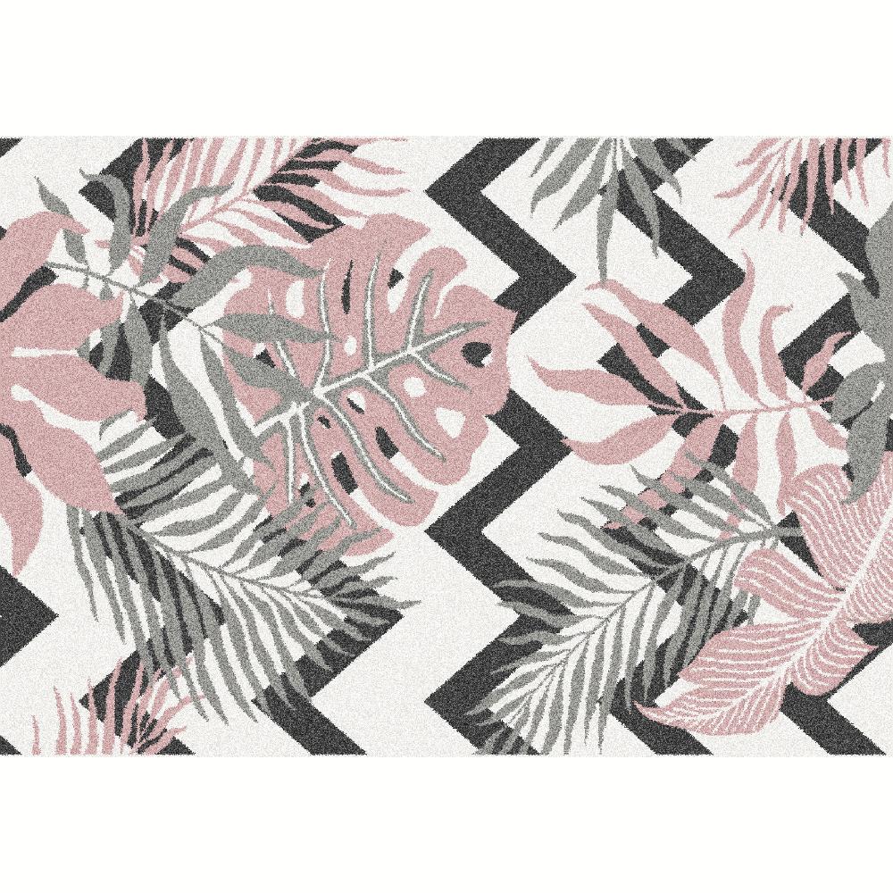 Covor Selim, 67x120 cm, poliester, multicolor poza
