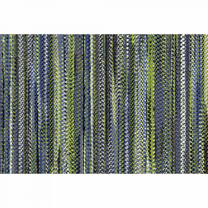 Covor Feten,100x150 cm, poliester, multicolor