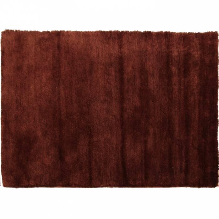Covor Luma,100x140 cm, poliester, bordo/maro