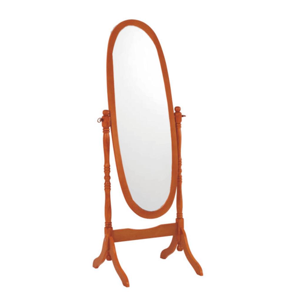 Oglindă de podea Maira, 58x150 cm, lemn, maro cireș poza