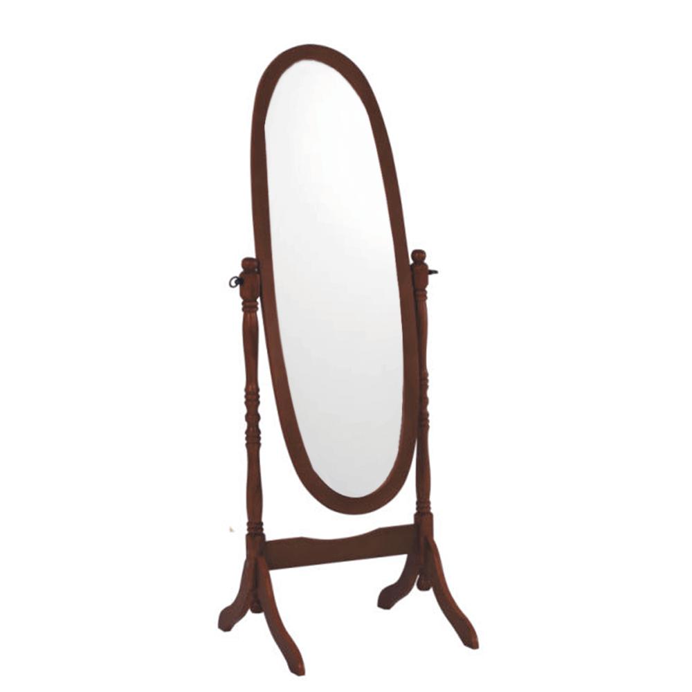 Oglindă de podea Maira, 58x150 cm, lemn, maro nuc poza