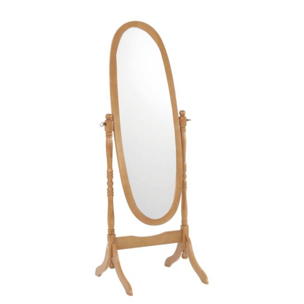 Oglindă de podea Maira, 58x150 cm, lemn, maro stejar poza