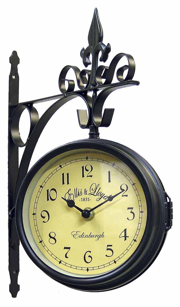 Ceas de gară Ellis & Lloyd Glenn poza
