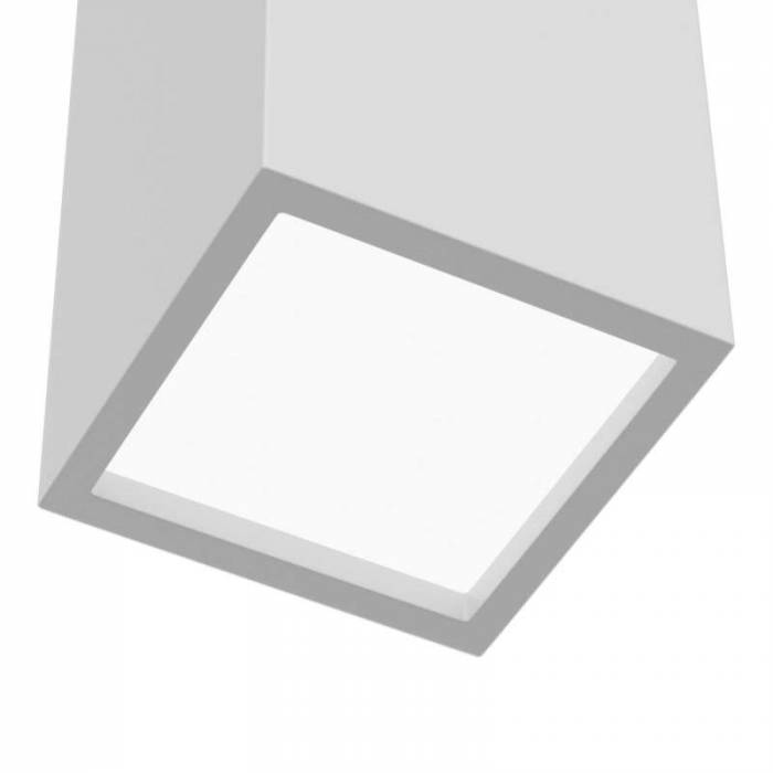 Aplică de perete albă Parma