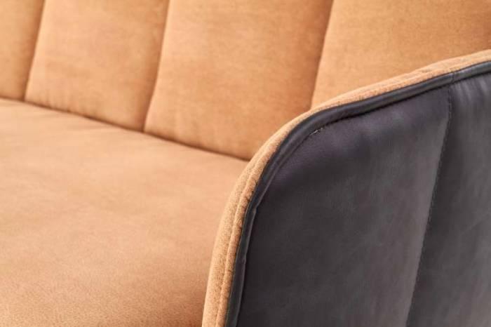 Canapea maro tapițată Emma