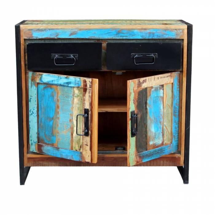 Comodă din lemn reciclat Indochina