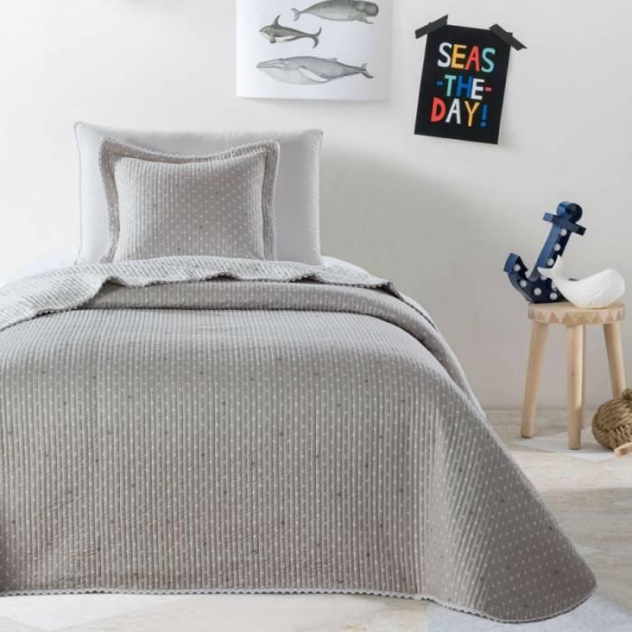Cuvertură bej de pat Stella 180x270 cm