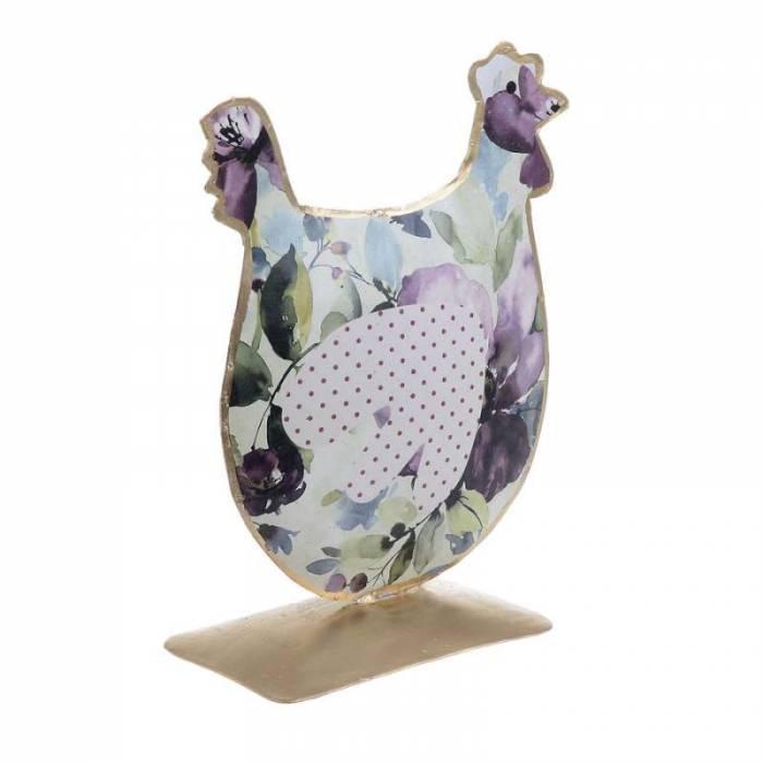 Decoraţiune cu design floral Rooster