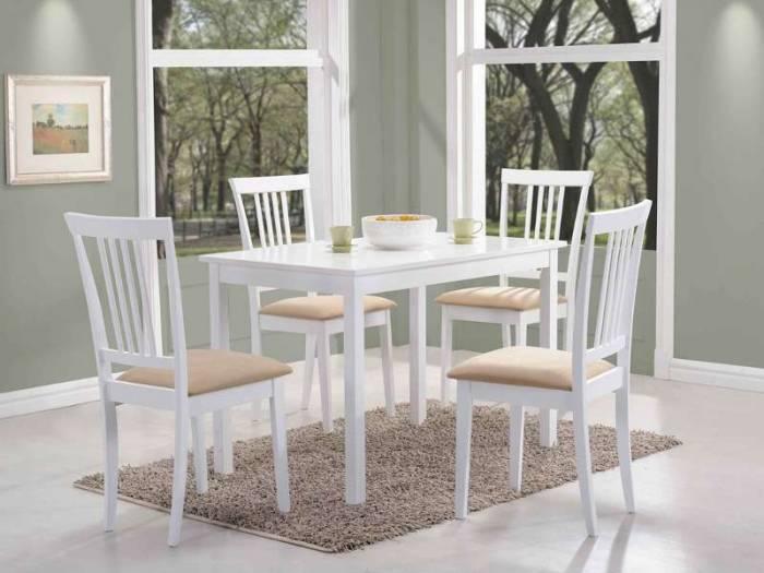 Masă de dining albă Ferdinand M