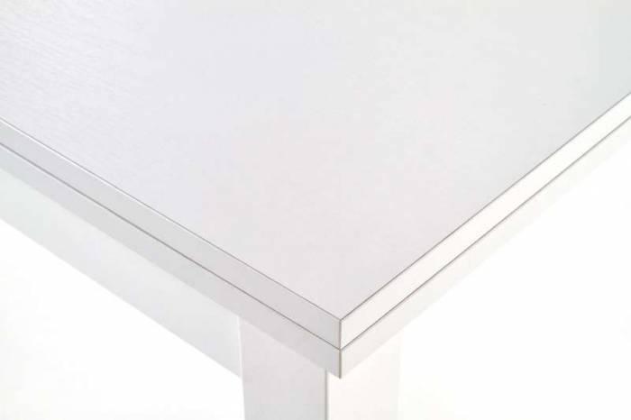 Masă extensibilă Logan 80/160x80x76 cm, PAL/MDF, alb
