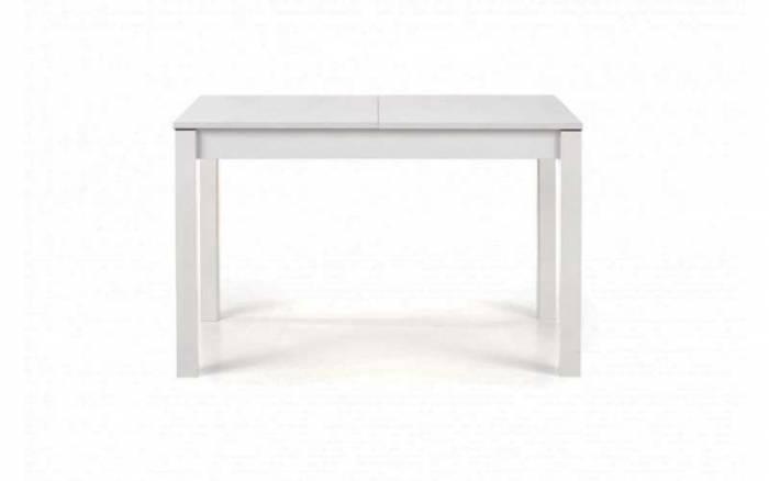 Masă extensibilă Trier 118/158x75x76 cm, PAL/MDF, alb