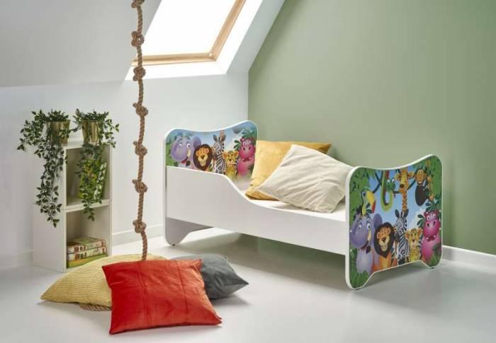 Pat multicolor pentru copii Jungle
