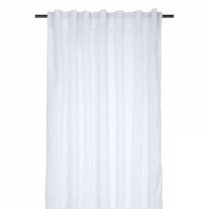 Perdea albă confecționată Madrid Blanc 140x260 cm