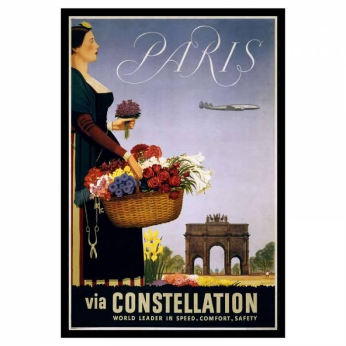 Poster de călătorie Paris